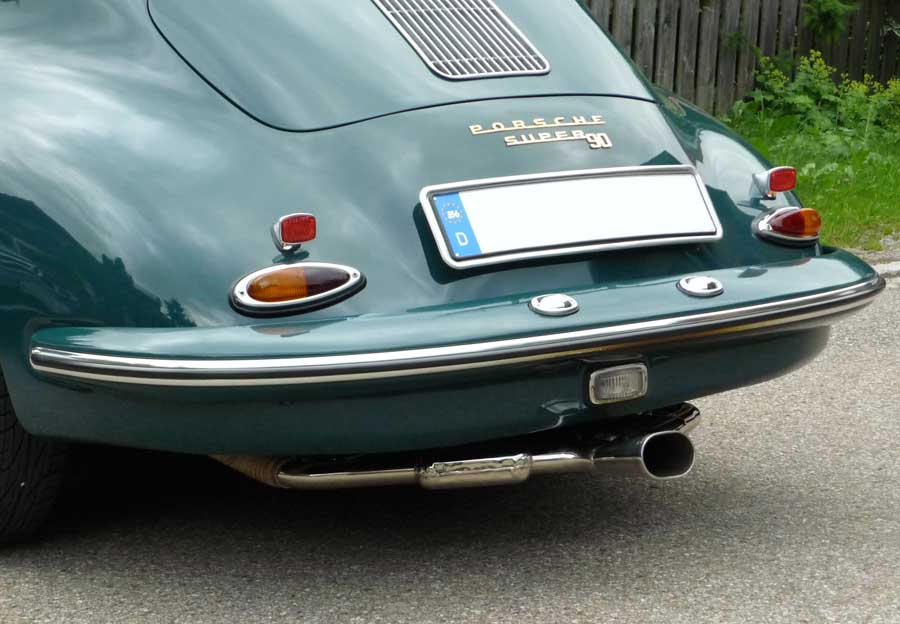 Exhaust For 356 Vintage Speedster Speedsterowners Com 356 Speedsters 550 Spyders Replicas