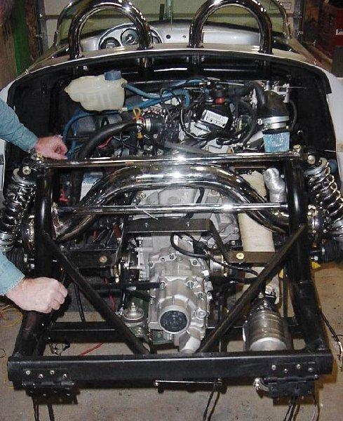 Porsche Boxster Engine Heat: Vintage Spyder - Subaru Power...