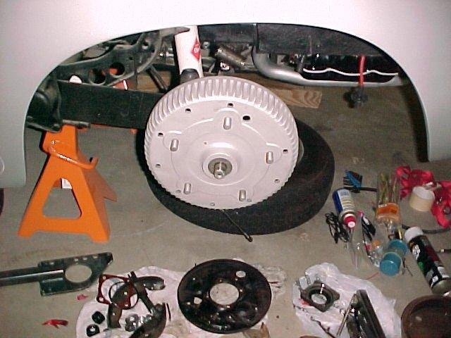 356 Disc Brake Conversion In Reverse