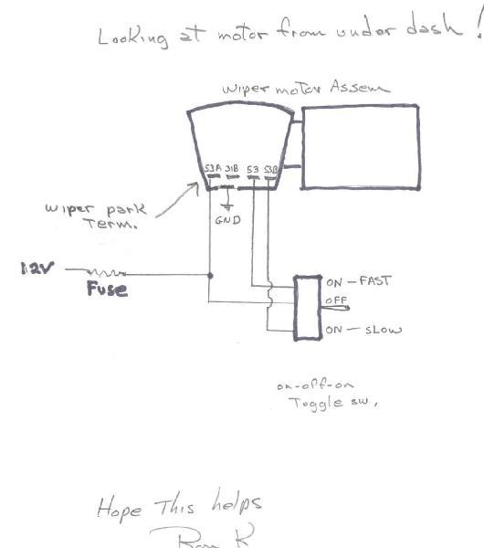 autoloc universal windshield wiper kit pos speedsterowners like