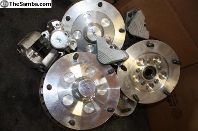 High quality Neal crossdrilled Wide 5 disc brakes