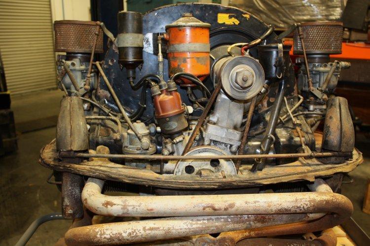 1956 Porsche 356 Engine For Sale Running Speedsterowners