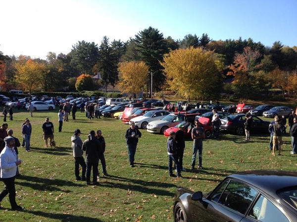 Boston S Autumnal Cars And Coffee Speedsterowners Com