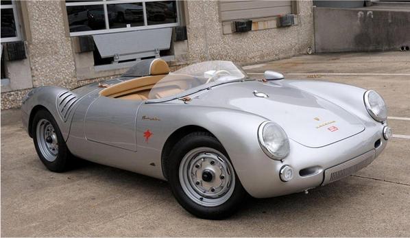 550 Spyder front R qt view