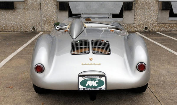 550 Spyder rear view