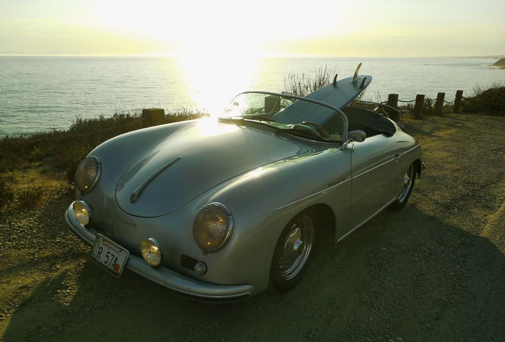 Porsche 550 spyder or 356 Speedster fender mirror Left Side