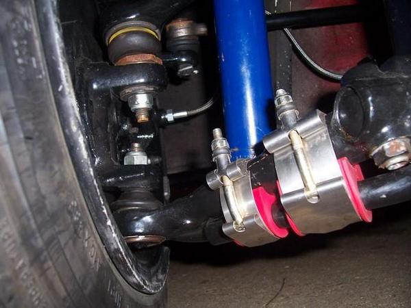 sway bar clamps