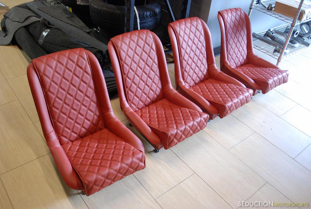 Seduction Motorsports 550 Spyder Upholstery Options