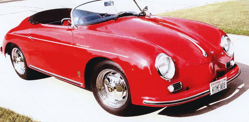 For Sale: 1957 Porsche 356 Speedster - Wisconsin USA