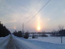 2014-Feb 9 by Ryan down sideroad at double sunglow chilly Mary's 67th