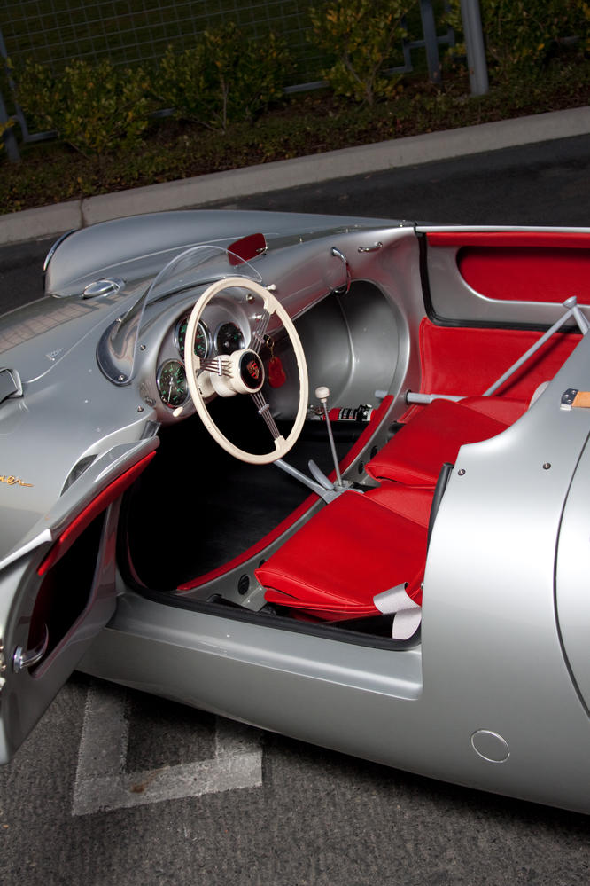 interior choices for my spyder 356 speedsters 550 spyders replicas and. Black Bedroom Furniture Sets. Home Design Ideas
