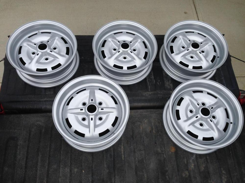 Wtb 4 Lug 5 5 Quot Silver Painted Wheels Speedsterowners