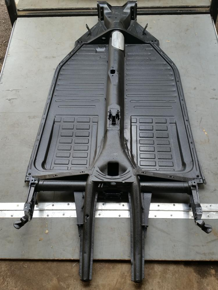 Coupe Speedster Tube Chassis Shortened Vw Chassis