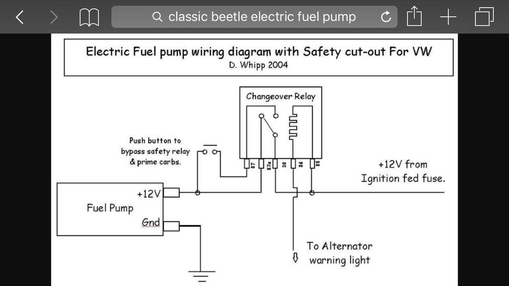 fuel pump dilema speedsterowners com 356 speedsters, 550 spyders vw transmission diagram 1915cc vw engine diagram #39