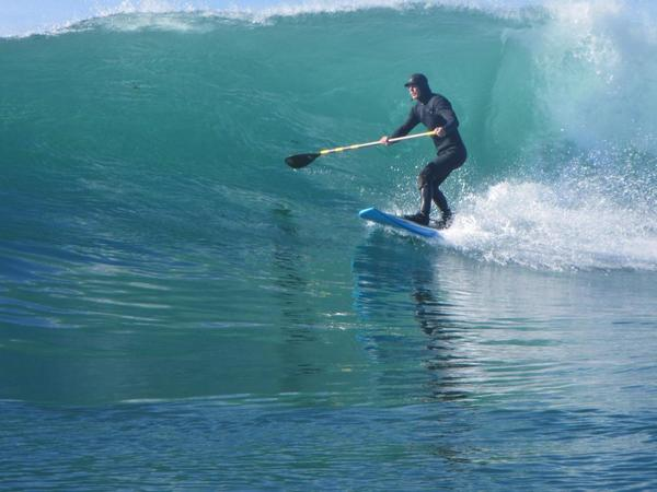Rusty surfing