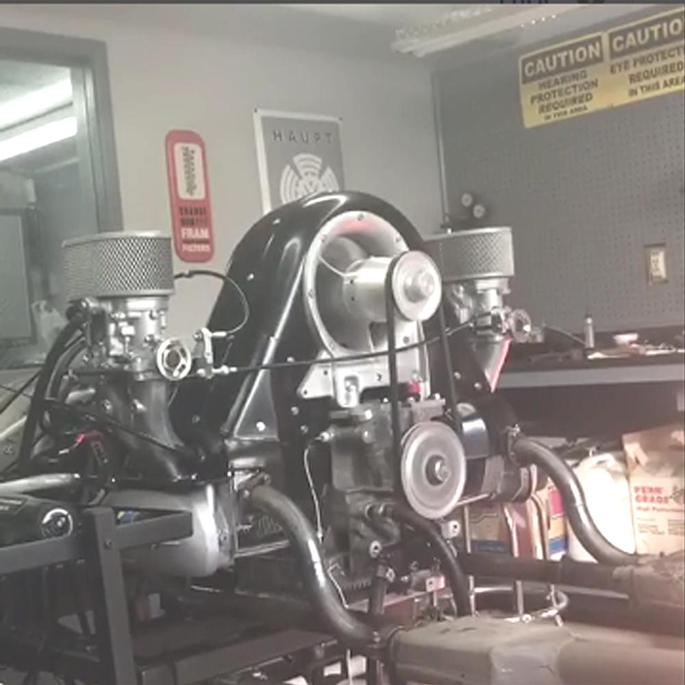 Anand's Faux Cam Spyder engine by Pat @ CB | SpeedsterOwners com