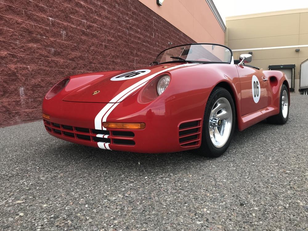 No Reserve Fiberfab Porsche Speedster Speedsterowners