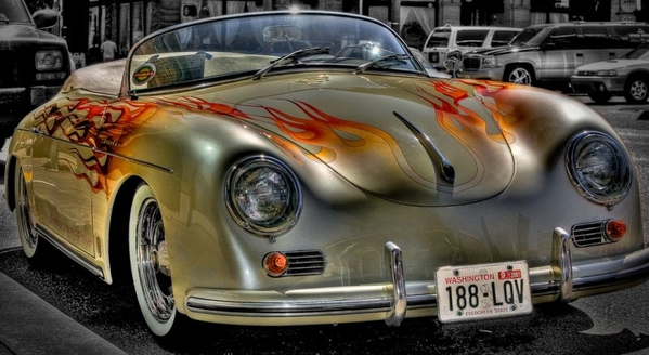 Speedster 's don't look good in flames