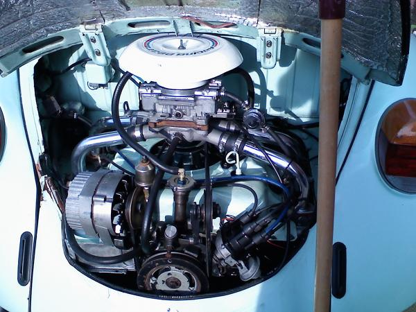 vw vair engine