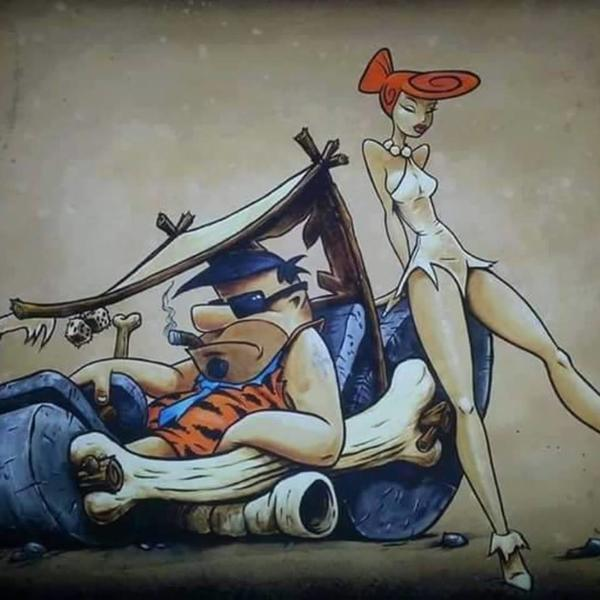 Fred & Wilma gone bad