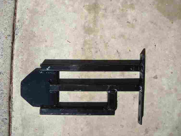 speedster bumper bracket modified for sway bar