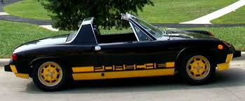 Image result for 1974 porsche 914 bumblebee