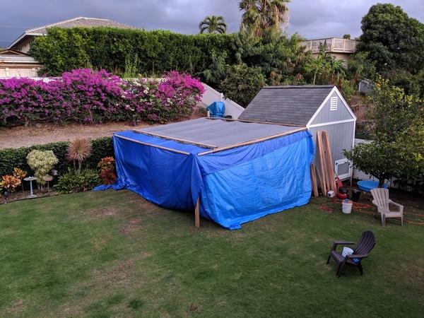 paint tent
