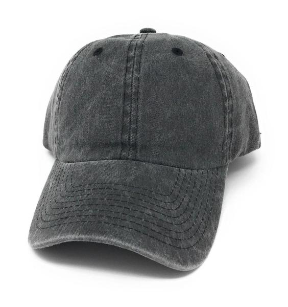 washed cotton baseball hat