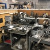 Rancho Transaxle shop: Porsche transaxles in progress