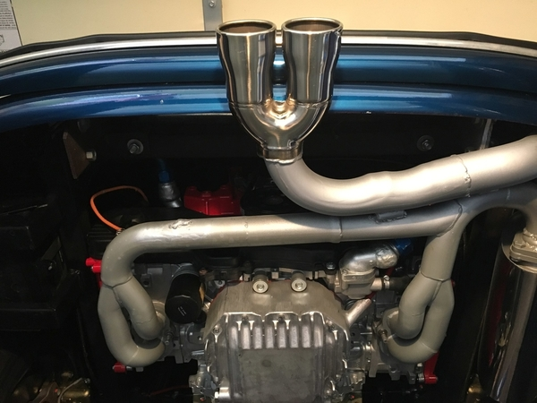 speedster conversion 145 center exit exhaust