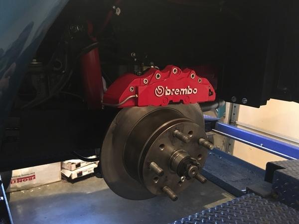 Speedster Conversion rear Brembo 163