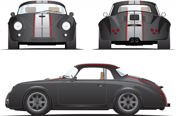 Greg356A's Speedster charcoal & white