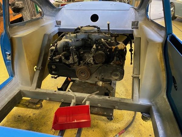 Engine mock up 2