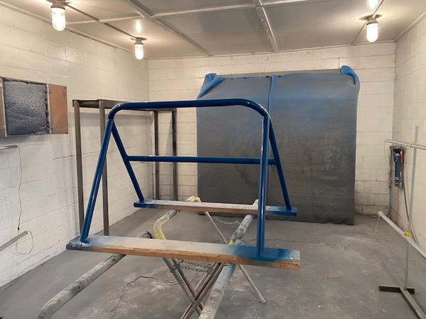 Roll bar painted 1