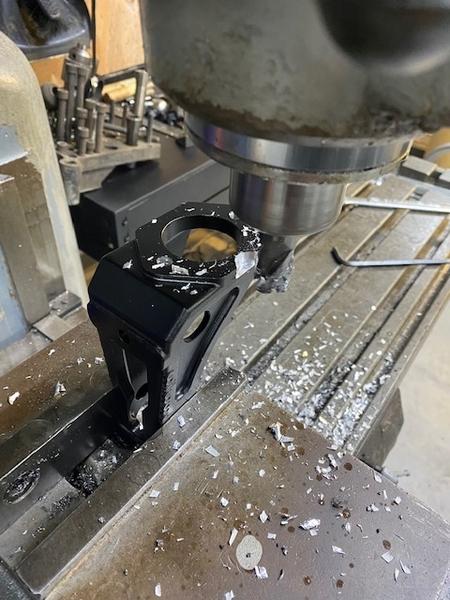 Pedal machining