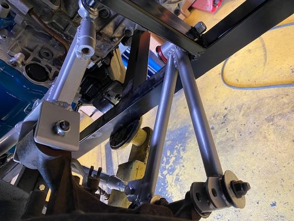 Rear suspension 1