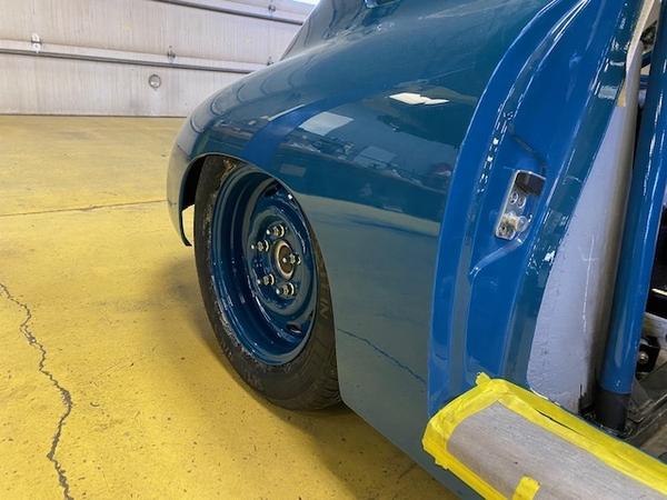 Custom rear wheel
