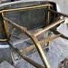 IMG_2438: Gold Frame for center steering Spyder