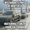 Winter in Kalifornia