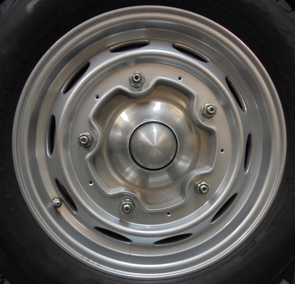 Wheel center 2