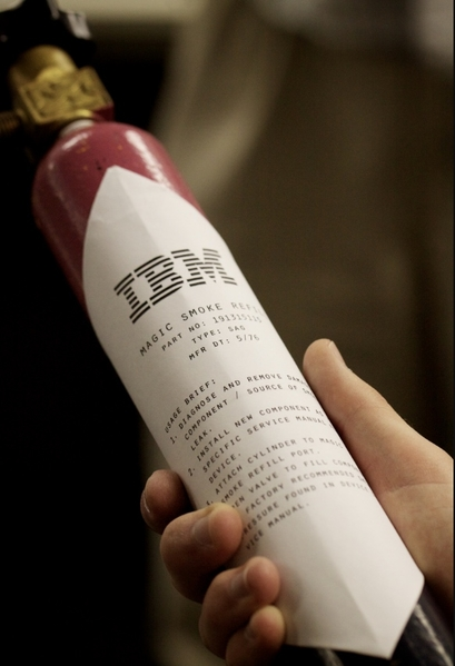 IBM smoke