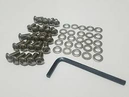 Image result for vw button head stainless steel tin bolts