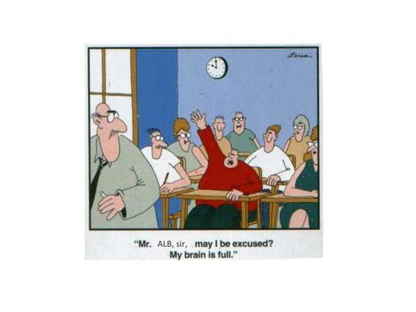 Funny ALB's class