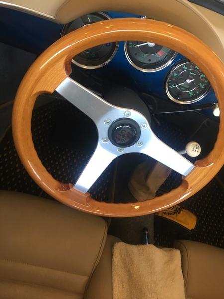 Speedster Grant wood steering wheel