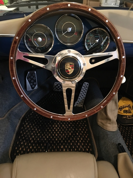 speedster new steering wheel