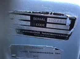Manufacturer ID Plate | SpeedsterOwners.com - 356 Speedsters, 550 ...