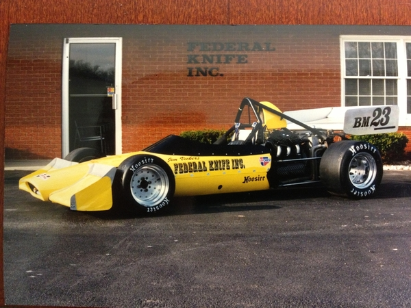 fki vintage formula atlantic race car