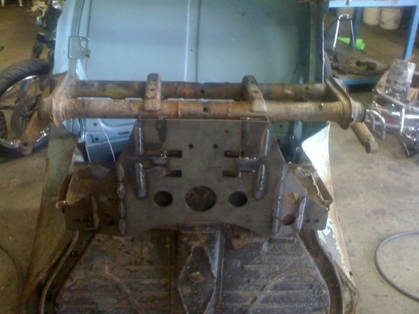 front beam conversion 3