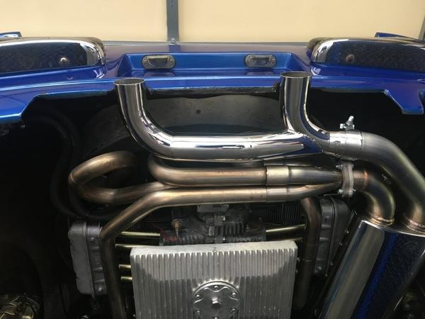 Puma 2276 A1 1.625 sidewinder muffler & large oil pan