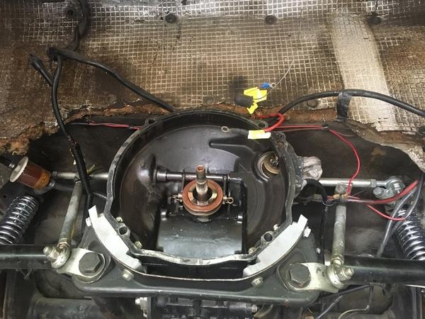 Puma engine out to rebuild 3